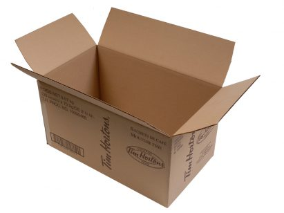 Corrugated Box | Display Boxes | Counter Displays | 1/2 Full