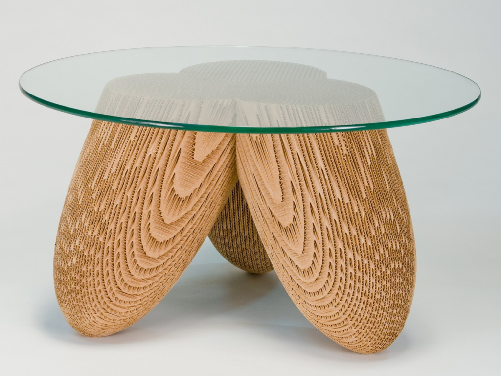Corrugated Cardboard Furniture and Sculpture – Jason Schneider