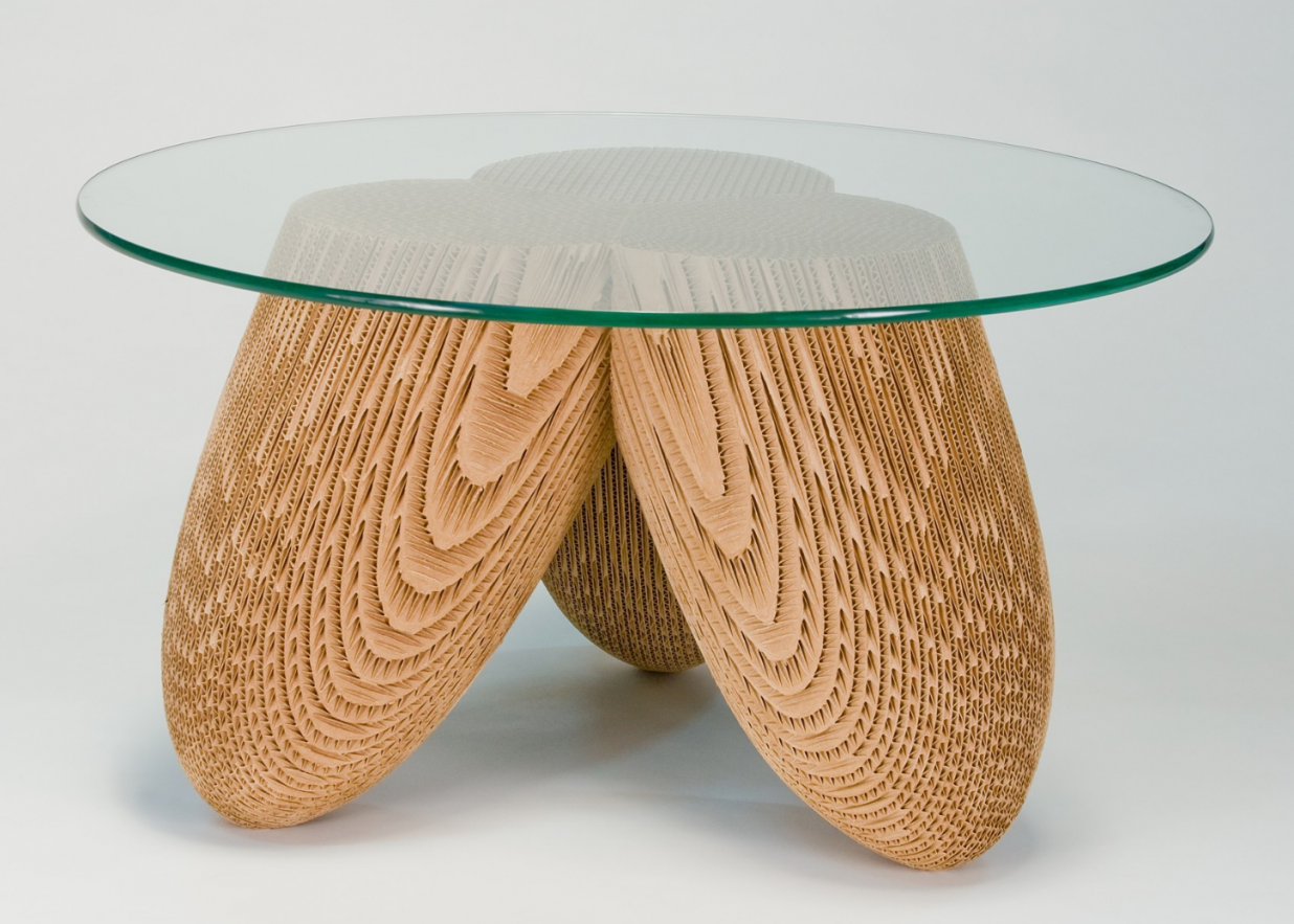 Corrugated Cardboard Furniture And Sculpture Jason Schneider