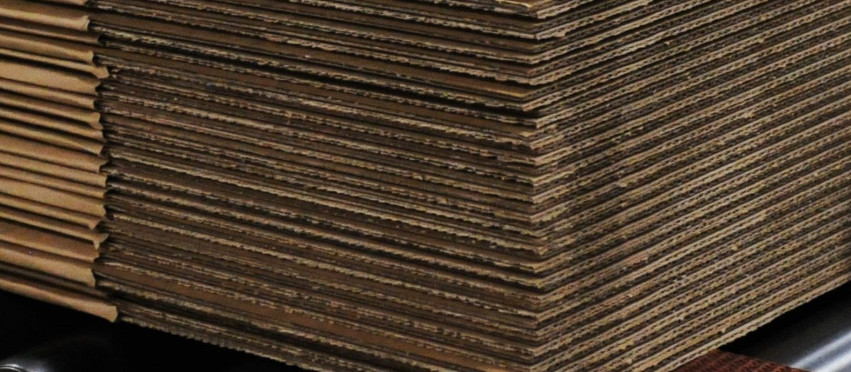 Sustainable Statistics for Corrugated Cardboard