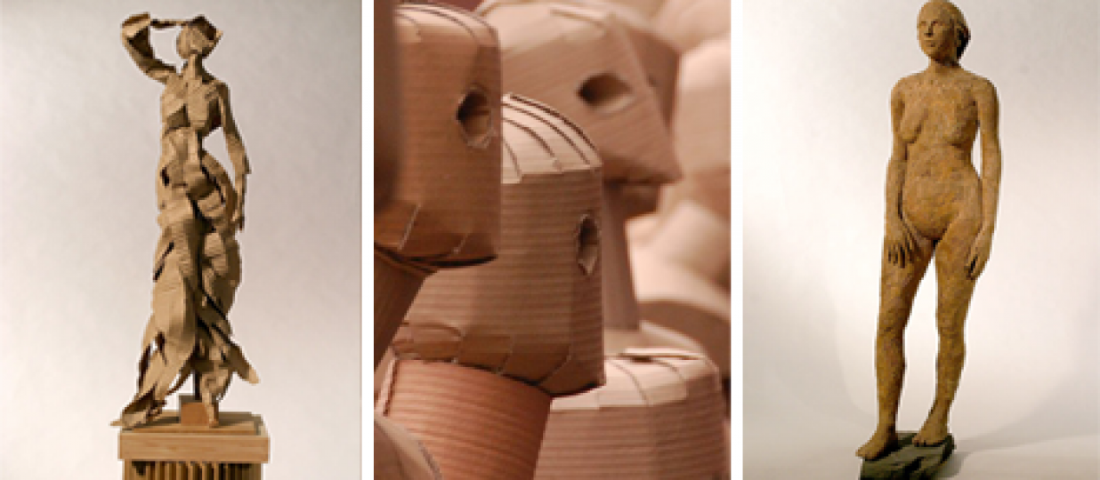 Out-of-the-Box Sculptures: 5 Amazing Cardboard Artists