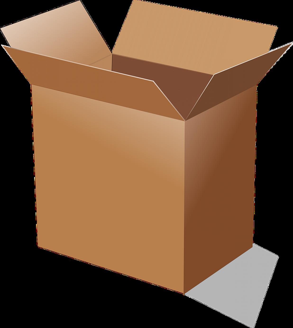 Corrugated paper box 80