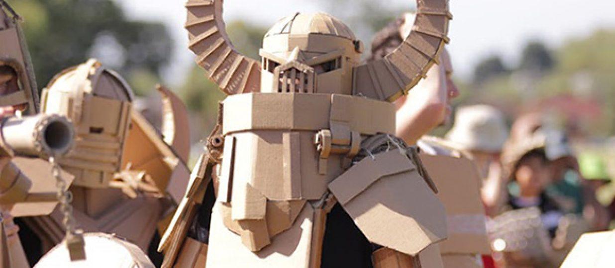 Box Wars – They may call it cardboard…
