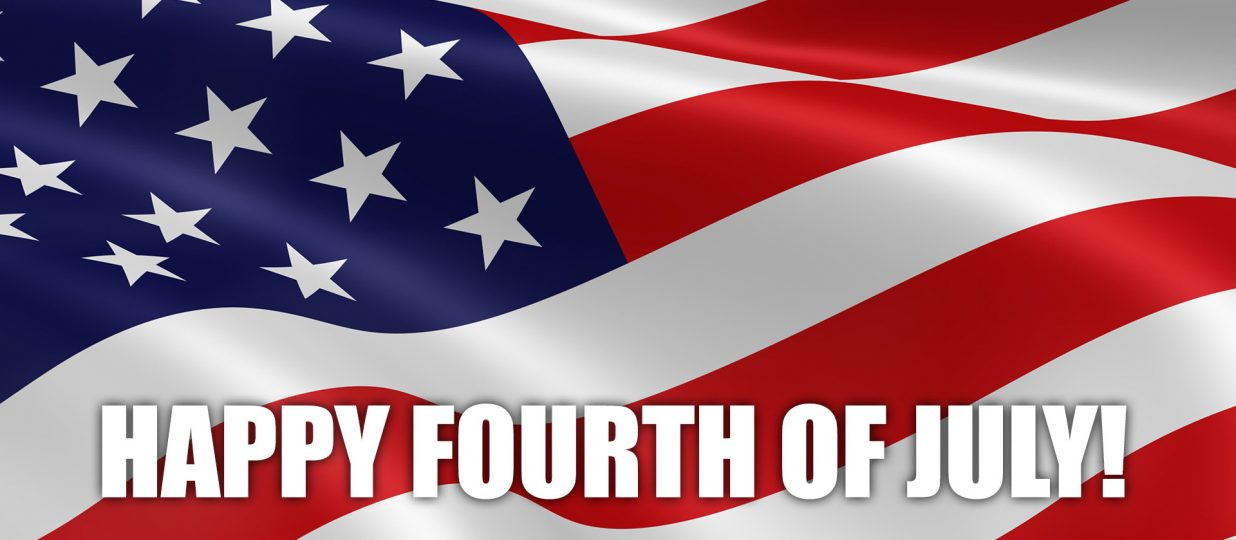 To our American friends – Happy 4th of July!!!